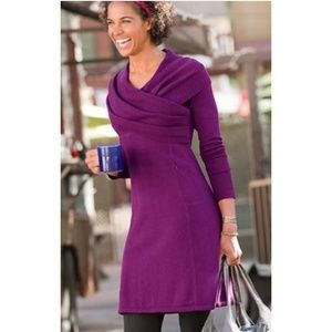 Athleta Sochi  Organic Cotton Wool Dress